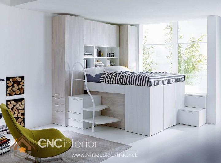 nội thất phòng ngủ nhỏ hiện đại