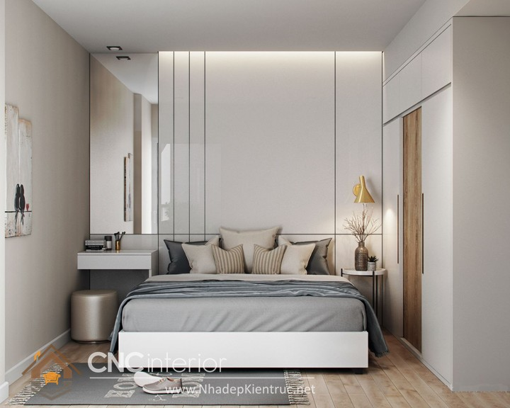 Nội thất phòng ngủ nhỏ hiện đại 6