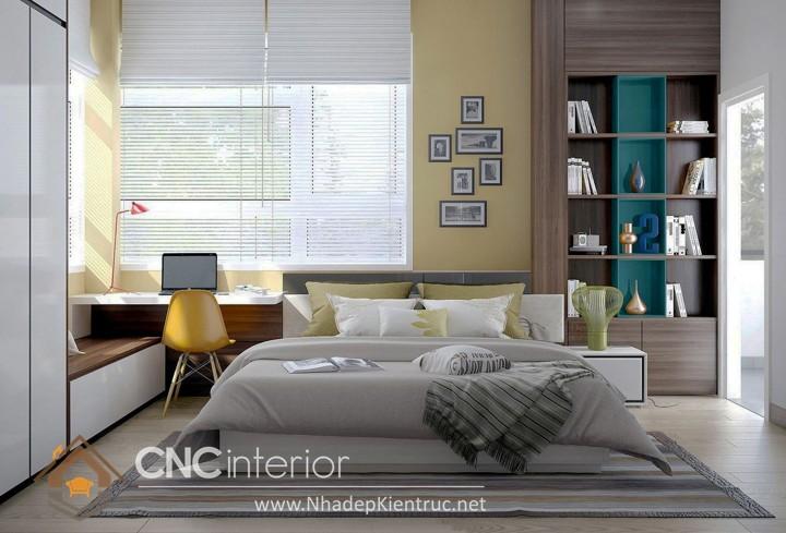 Nội thất phòng ngủ nhỏ hiện đại 8
