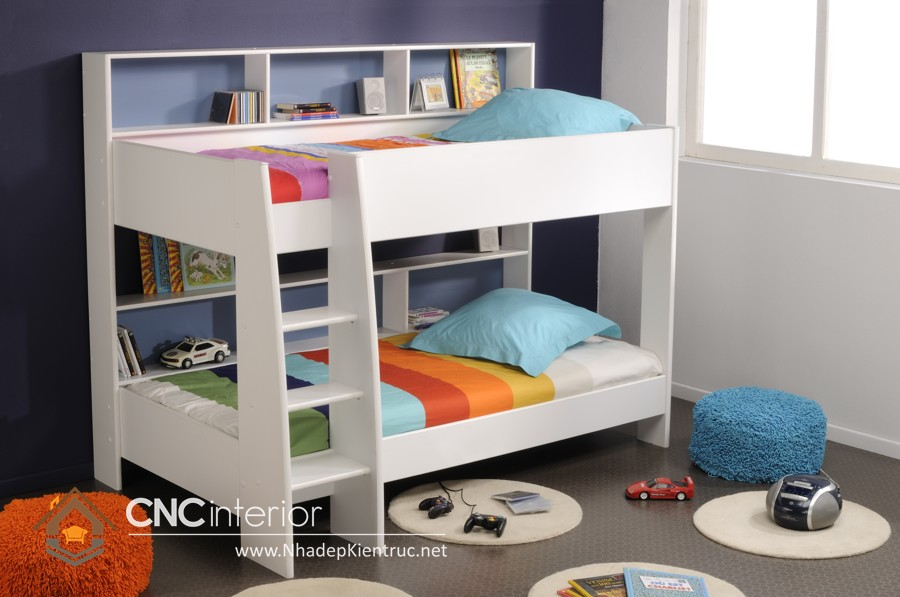 mãu giường tầng đa năng cho bé