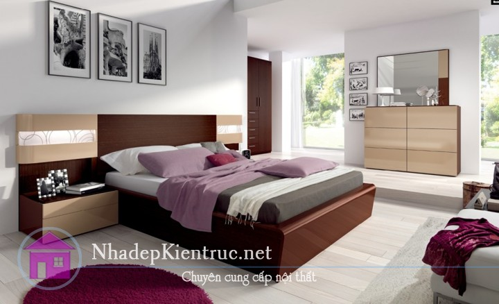 hướng giường ngủ theo phong thủy 1