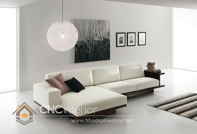 Bộ ghế sofa phòng khách đẹp CNC – H01