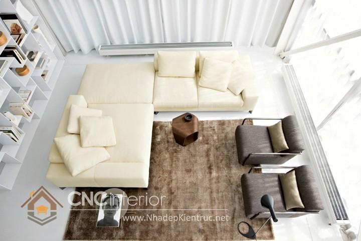 Bộ ghế sofa phòng khách đẹp CNC – H12