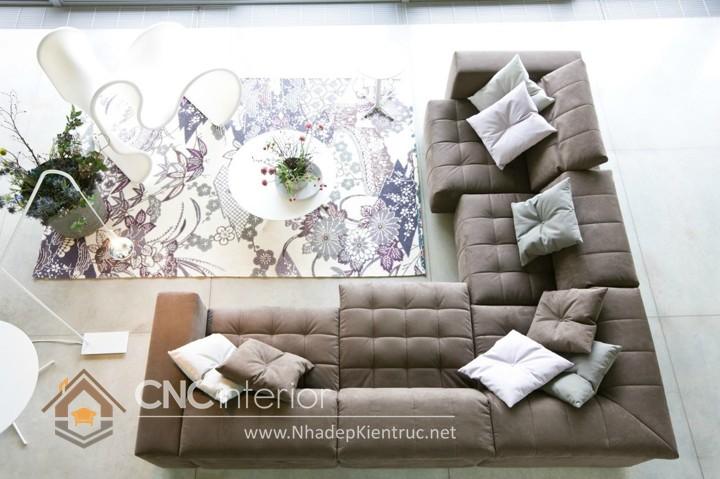 Bộ ghế sofa phòng khách đẹp CNC – H15