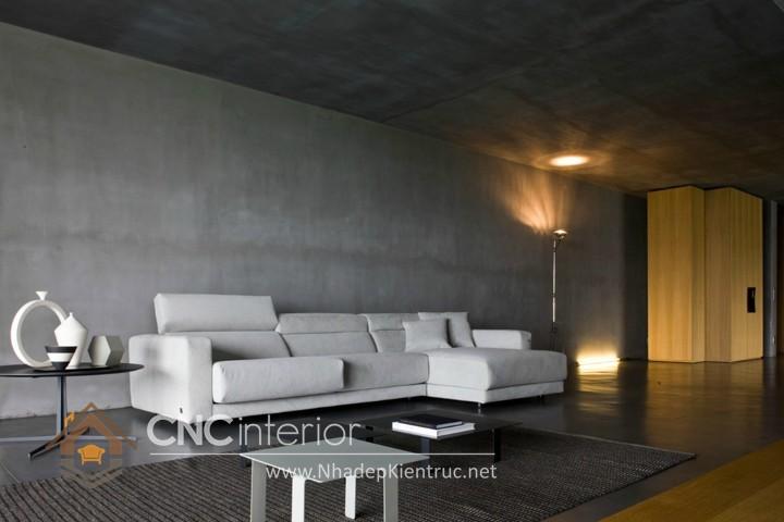 Bộ ghế sofa phòng khách đẹp CNC – H16
