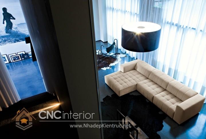 Bộ ghế sofa phòng khách đẹp CNC – H17