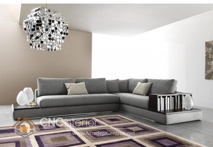 Bộ ghế sofa phòng khách đẹp CNC – H22