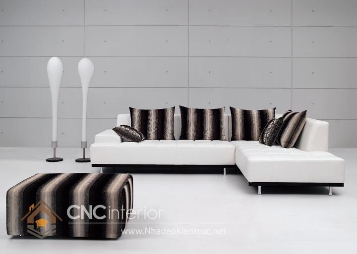 Bộ ghế sofa phòng khách đẹp CNC – H24