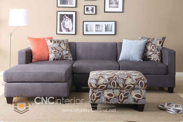 Bộ ghế sofa phòng khách đẹp CNC – H25