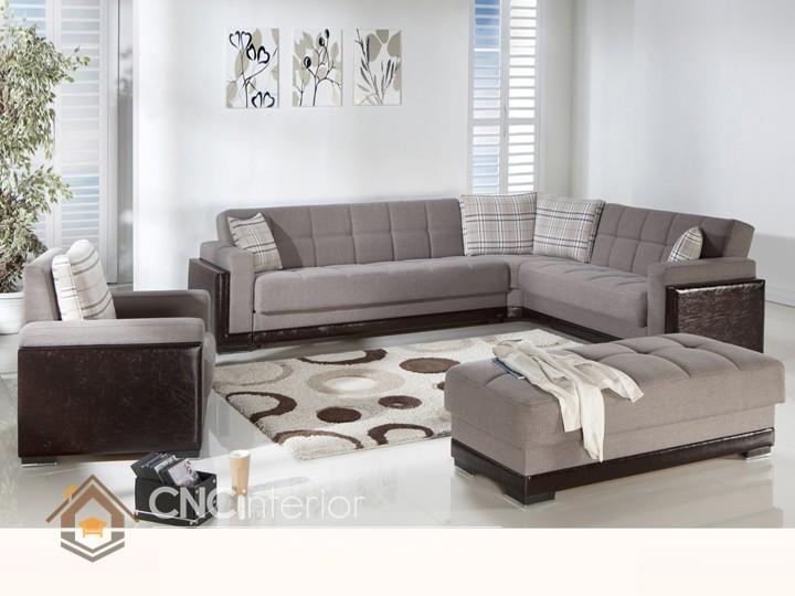 Bộ ghế sofa phòng khách đẹp CNC – H26
