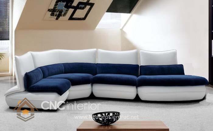 Bộ ghế sofa phòng khách đẹp CNC – H28