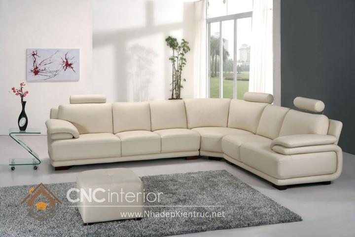 Bộ ghế sofa phòng khách đẹp CNC – H30
