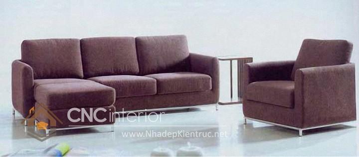 Bộ ghế sofa phòng khách đẹp CNC – H03