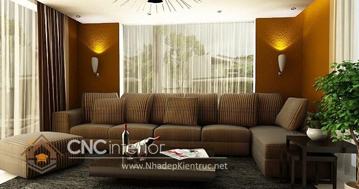 Bộ ghế sofa phòng khách đẹp CNC – H33