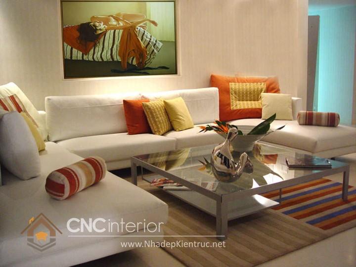 Bộ ghế sofa phòng khách đẹp CNC – H36