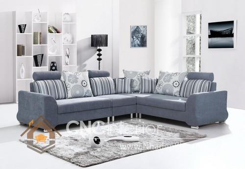 Bộ ghế sofa phòng khách đẹp CNC – H37