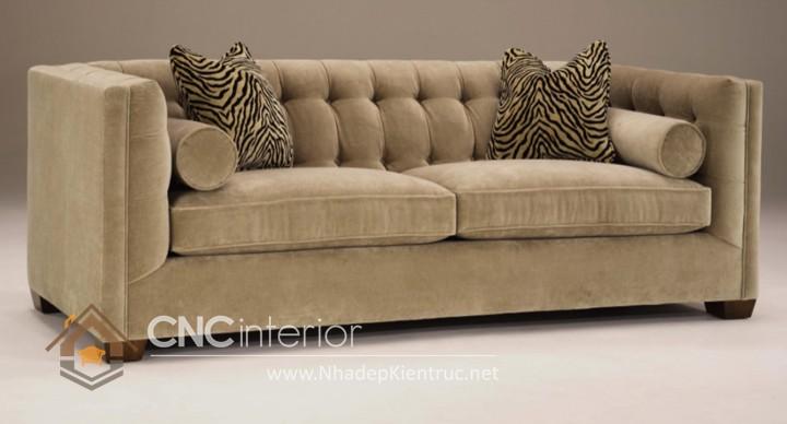 Bộ ghế sofa phòng khách đẹp CNC – H41