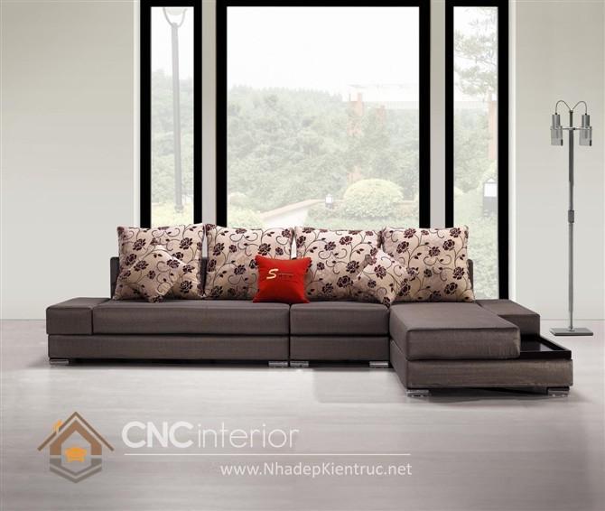 Bộ ghế sofa phòng khách đẹp CNC – H04