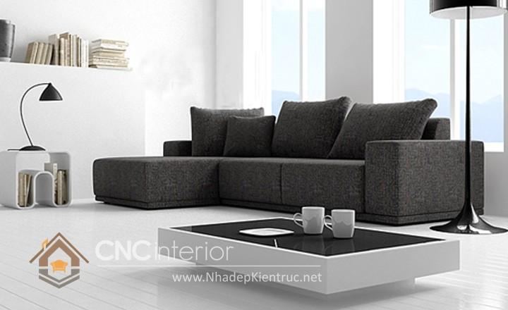 Bộ ghế sofa phòng khách đẹp CNC – H42