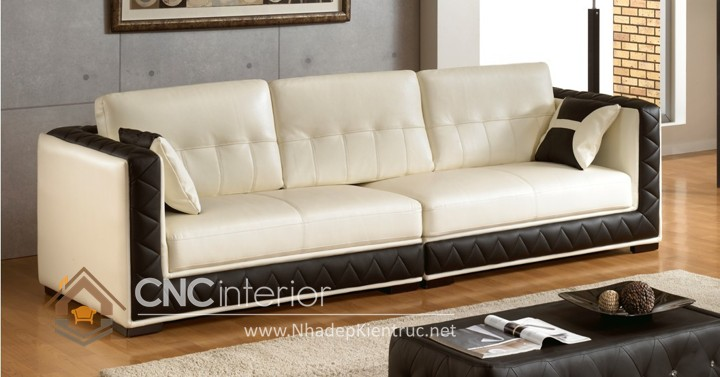 Bộ ghế sofa phòng khách đẹp CNC – H47
