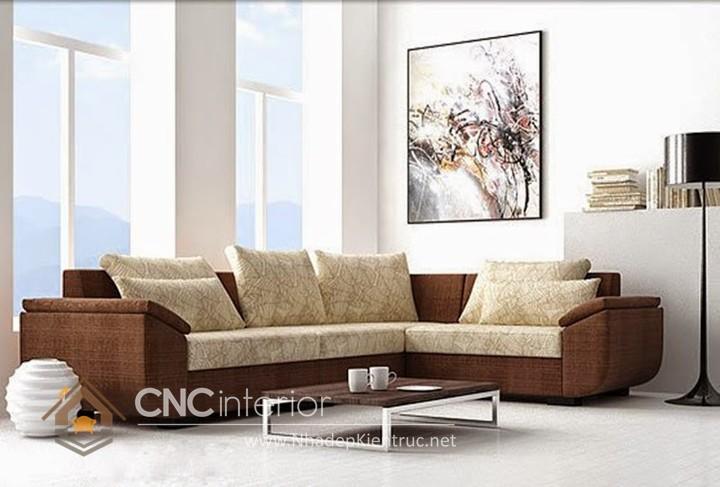 Bộ ghế sofa phòng khách đẹp CNC – H48