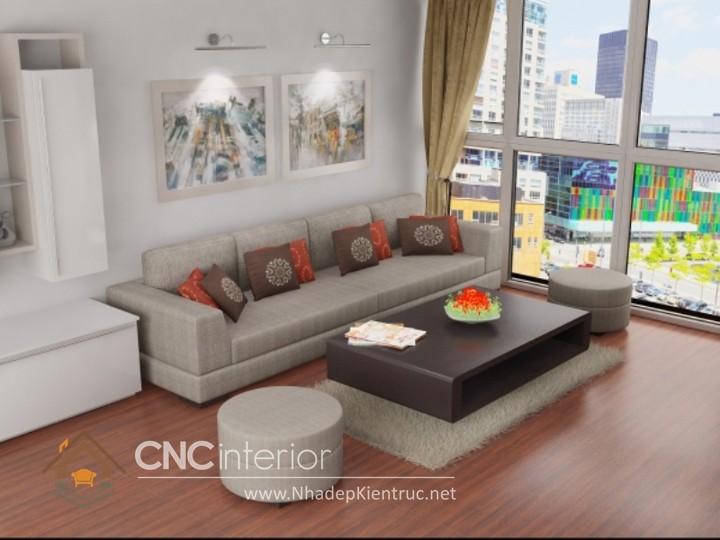 Bộ ghế sofa phòng khách 50