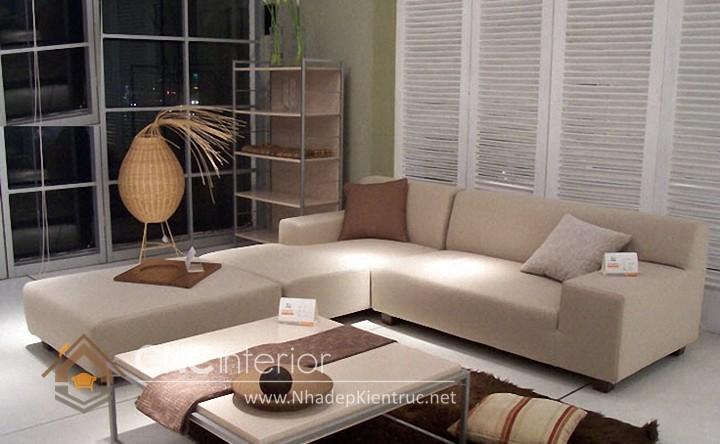 Bộ ghế sofa phòng khách đẹp CNC – H05