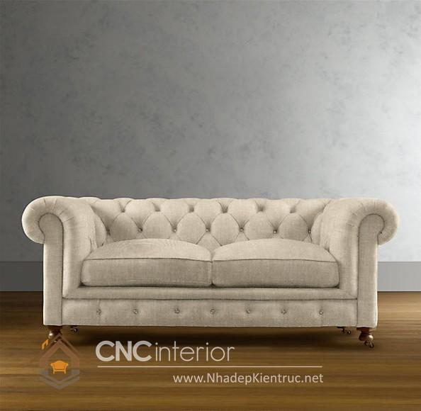 Bộ ghế sofa phòng khách đẹp CNC – H52