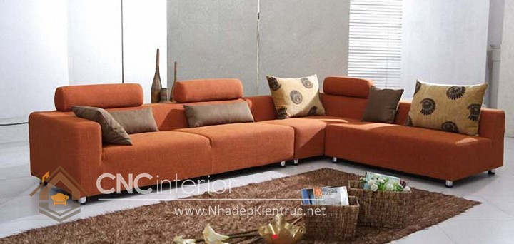 Bộ ghế sofa phòng khách đẹp CNC – H06