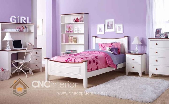 Giường ngủ kiểu công chúa CNC – H12