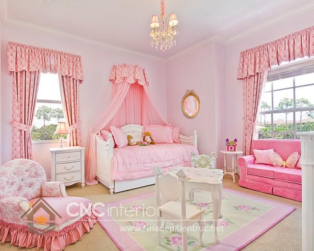 Giường ngủ kiểu công chúa CNC – H14