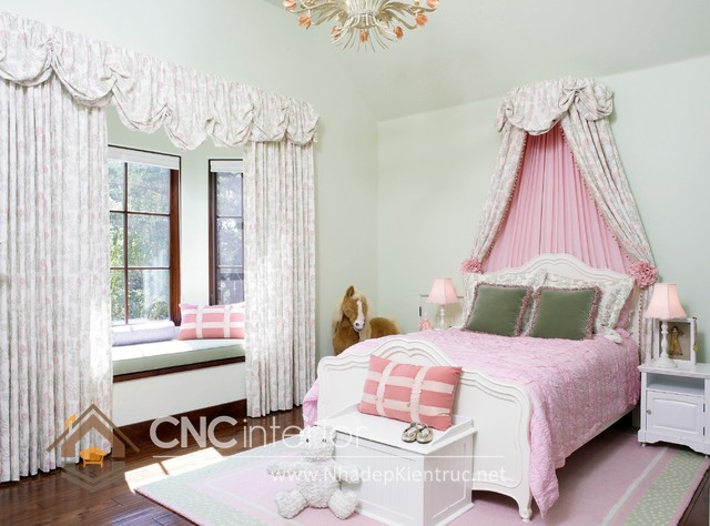 Giường ngủ kiểu công chúa CNC – H15