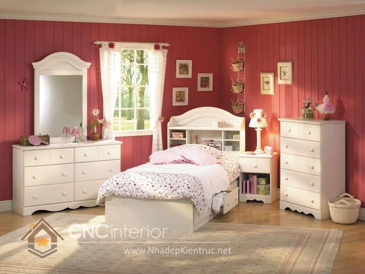 Giường ngủ kiểu công chúa CNC – H17