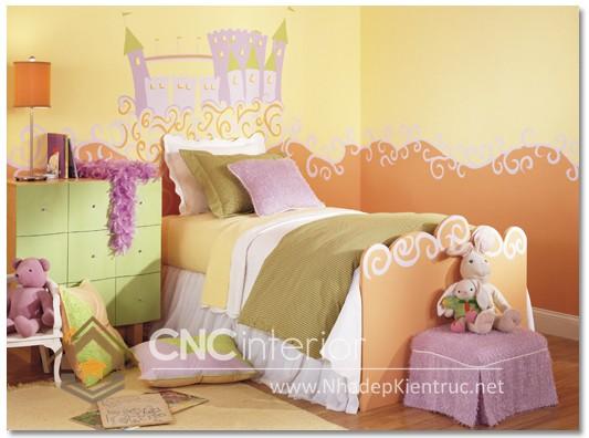 Giường ngủ kiểu công chúa CNC – H19