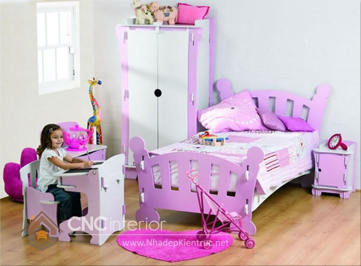 Giường ngủ kiểu công chúa CNC – H20