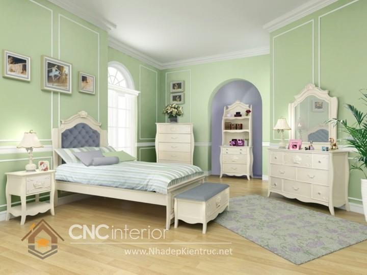 Giường ngủ kiểu công chúa CNC – H26