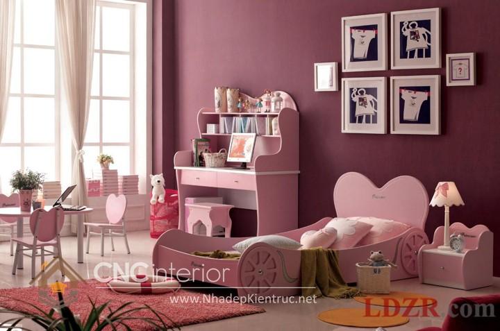 Giường ngủ kiểu công chúa CNC – H28