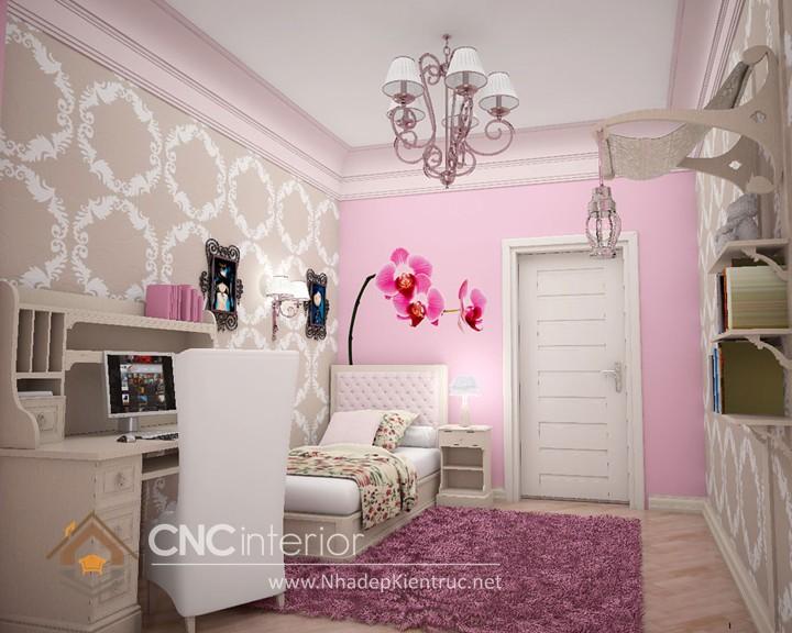 Giường ngủ kiểu công chúa CNC – H29