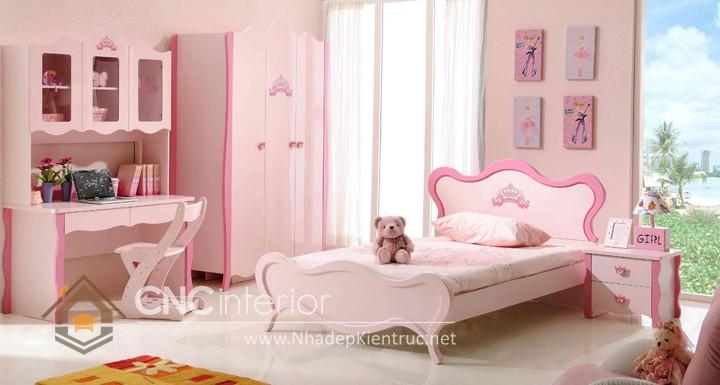 Giường ngủ kiểu công chúa CNC – H03