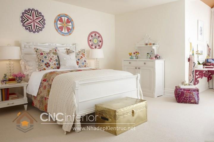 Giường ngủ kiểu công chúa CNC – H32