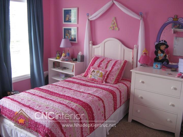 Giường ngủ kiểu công chúa CNC – H34