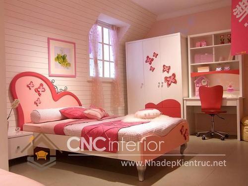 Giường ngủ kiểu công chúa CNC – H36