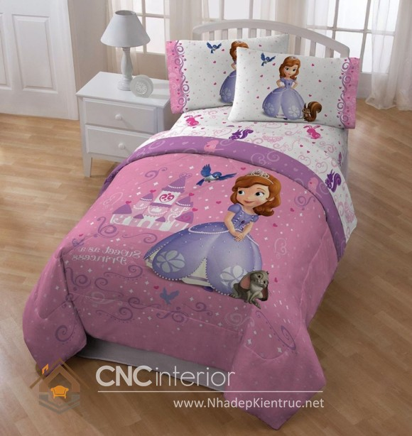 Giường ngủ kiểu công chúa CNC – H38