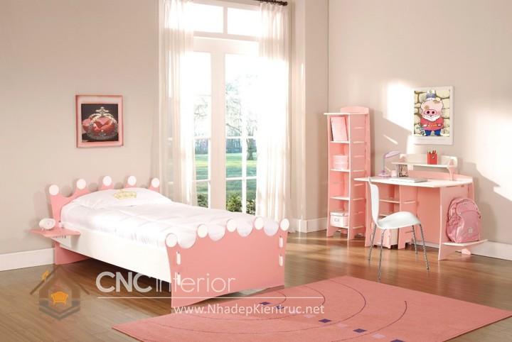 Giường ngủ kiểu công chúa CNC – H39