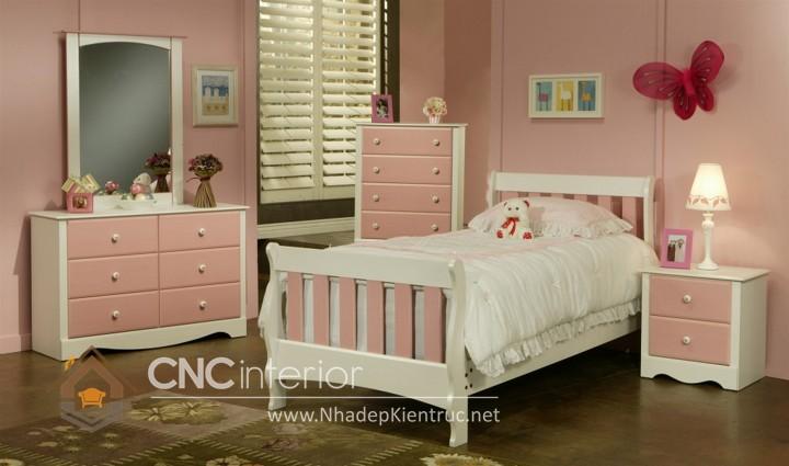 Giường ngủ kiểu công chúa CNC – H04