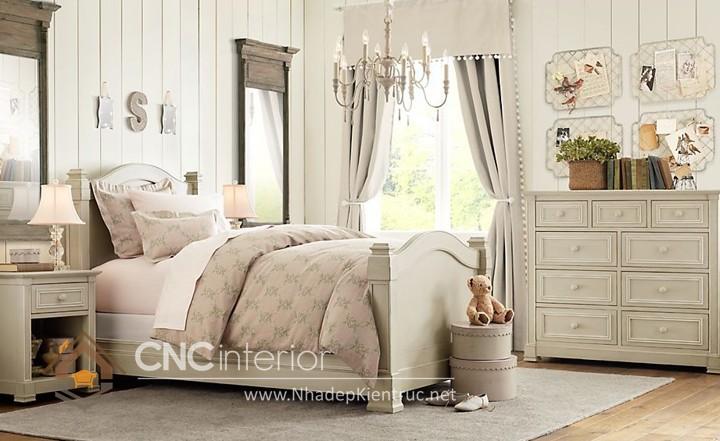 Giường ngủ kiểu công chúa CNC – H05
