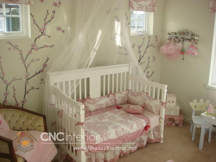 Giường ngủ kiểu công chúa CNC – H06
