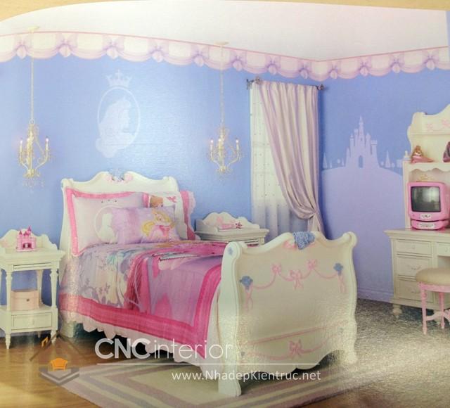 Giường ngủ kiểu công chúa CNC – H07