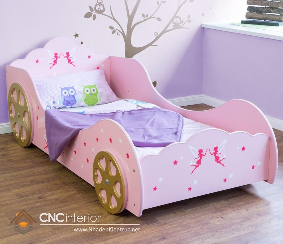 Giường ngủ kiểu công chúa CNC – H10