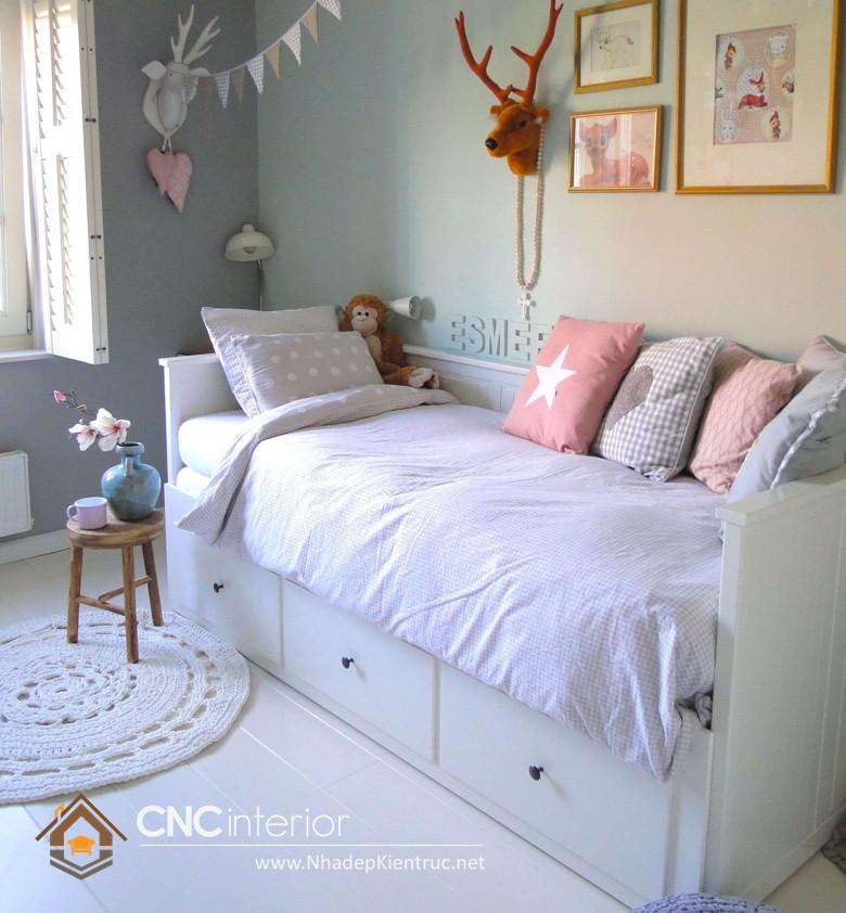 Giường ngủ kiểu công chúa CNC – H11